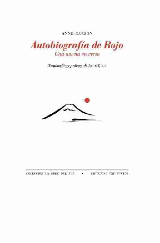 AUTOBIOGRAFÍA DE ROJO